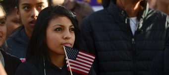Latino immigration supporters launch a voter registration campaign, Boulder, Oct. 28, 2015. Evan Semon/Reuters