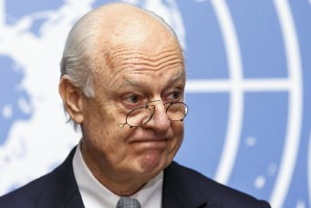 UN Special Envoy of the Secretary-General for Syria Staffan de Mistura, Geneva, Jan. 25, 2016. Salvatore di Nolfi/epa/Corbis