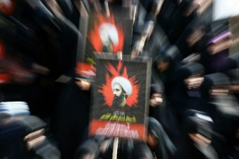 Anti-Saudi demonstration in Tehran, Jan. 4, 2016. Abedin Taherkenareh/epa/Corbis