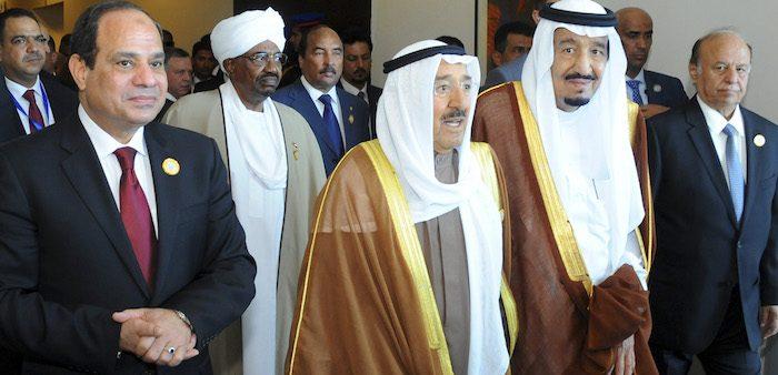 Leaders at the 26th Arab League Summit, Sharm El-Sheikh