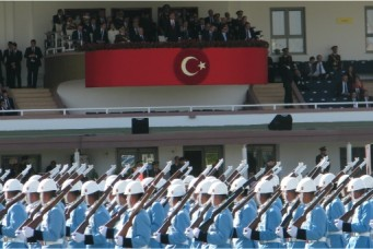 Turkish Republic Day parade, 2012, Ankara. Wikicommons