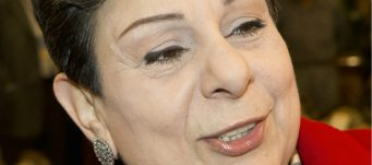 Palestinian legislator and activist Hanan Ashrawi, Kuwait City, Feb. 11, 2013. Stephanie Mcgehee/Reuters