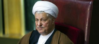 Former president Akbar Hashemi Rafsanjani at Iran's Assembly of Experts' biannual meeting in Tehran, March 8, 2011. Raheb Homavandi/Reuters