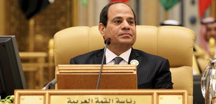 President Abdel Fattah El-Sisi in Riyadh, Nov. 10, 2015. Faisal Al Nasser/Reuters