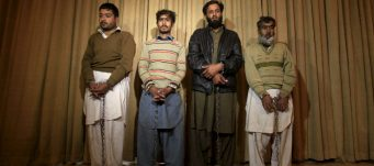 Four accused terrorists, Peshawar, Pakistan, Jan. 23, 2016. Fayaz Aziz/Reuters