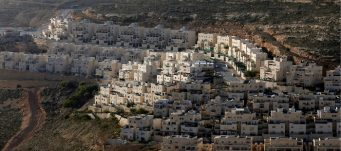 Jewish settlement near West Bank city of Ramallah, Givat Zeev, February 7, 2017. Ammar Awad/Reuters