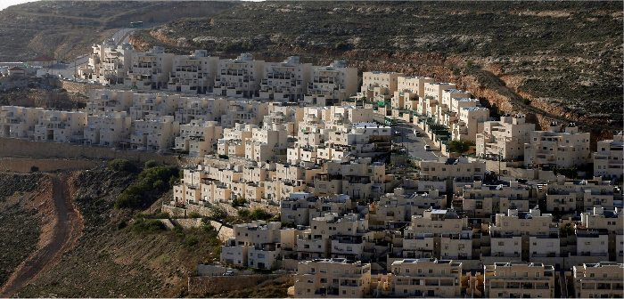 Jewish settlement near West Bank city of Ramallah, Givat Zeev, February 7, 2017. Ammar Awad/Reuters