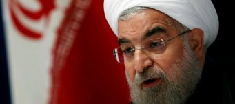 Iranian President Hassan Rouhani, New York, U.S., Sept. 22, 2016. Lucas Jackson/Reuters