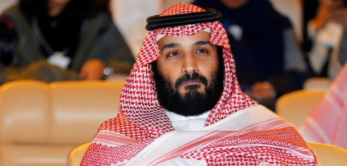 Saudi Crown Prince Mohammed Bin Salman at the Future Investment Initiative conference in Riyadh, Oct. 24, 2017. Hamad Mohammed/Reuters